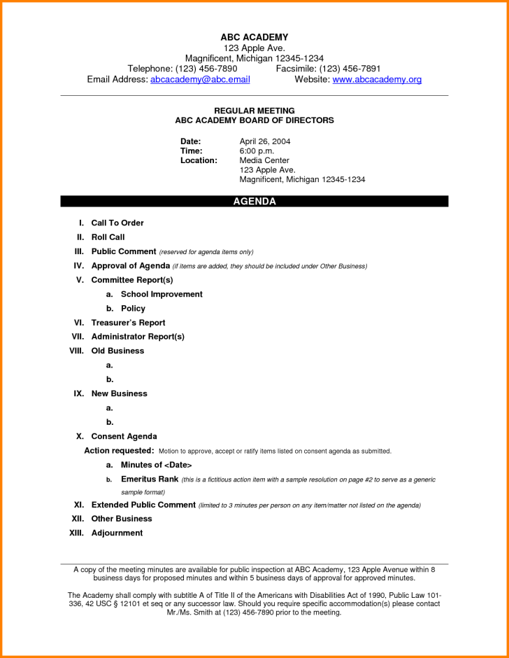 55 3 Day Meeting Agenda Template in Photoshop with 3 Day Meeting Agenda Template