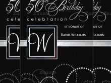 55 Best 50Th Birthday Card Template Free for Ms Word by 50Th Birthday Card Template Free