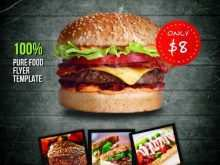 55 Creating Burger Promotion Flyer Template Photo for Burger Promotion Flyer Template