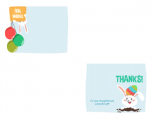 55 Creating Easter Gift Card Templates Templates with Easter Gift Card Templates
