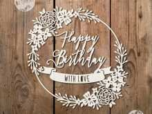 55 Creating Silhouette Birthday Card Template Formating for Silhouette Birthday Card Template