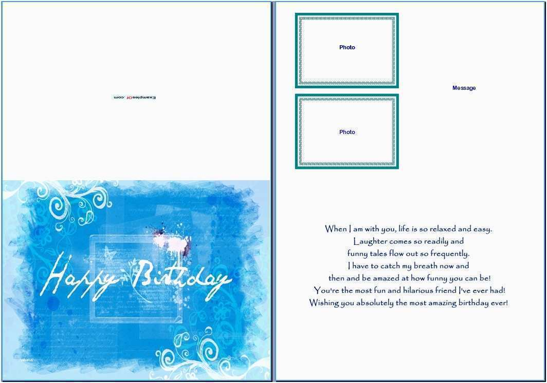 55 Creative Birthday Card Layout Microsoft Word Now with Birthday Card Layout Microsoft Word