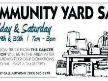 55 Customize Community Garage Sale Flyer Template Layouts with Community Garage Sale Flyer Template
