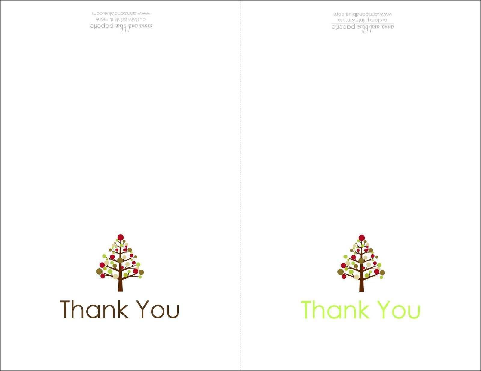 21 Customize Free Printable Christmas Thank You Card Templates Pertaining To Christmas Thank You Card Templates Free