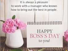 55 Customize Our Free Happy Boss S Day Greeting Card Templates Layouts by Happy Boss S Day Greeting Card Templates
