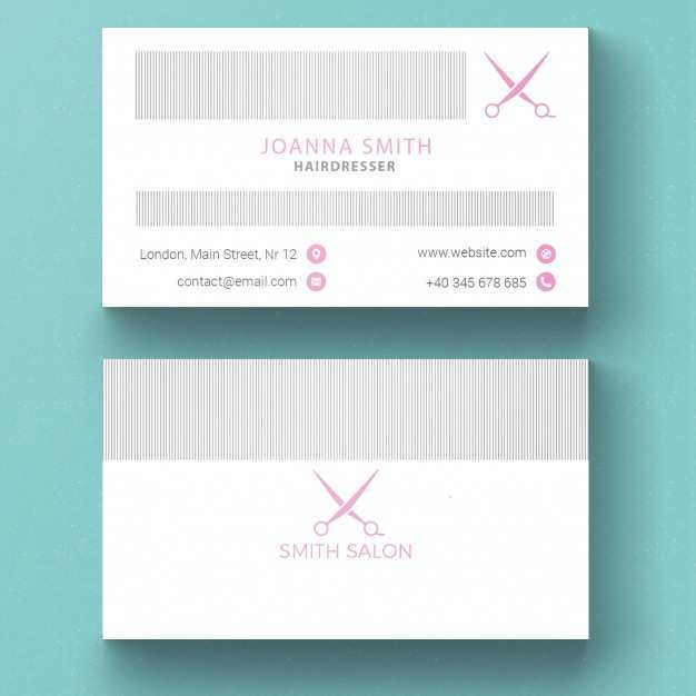 55 Format Beauty Salon Business Card Template Free Download in Photoshop with Beauty Salon Business Card Template Free Download