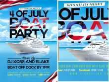 55 Format Boat Cruise Flyer Template in Photoshop by Boat Cruise Flyer Template
