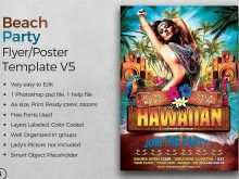 55 Free Beach Party Flyer Template Templates for Beach Party Flyer Template