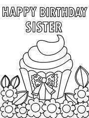 55 Free Birthday Card Templates For Sister For Free with Birthday Card Templates For Sister