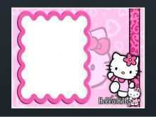 55 Free Birthday Invitation Card Template Hello Kitty in Word by Birthday Invitation Card Template Hello Kitty