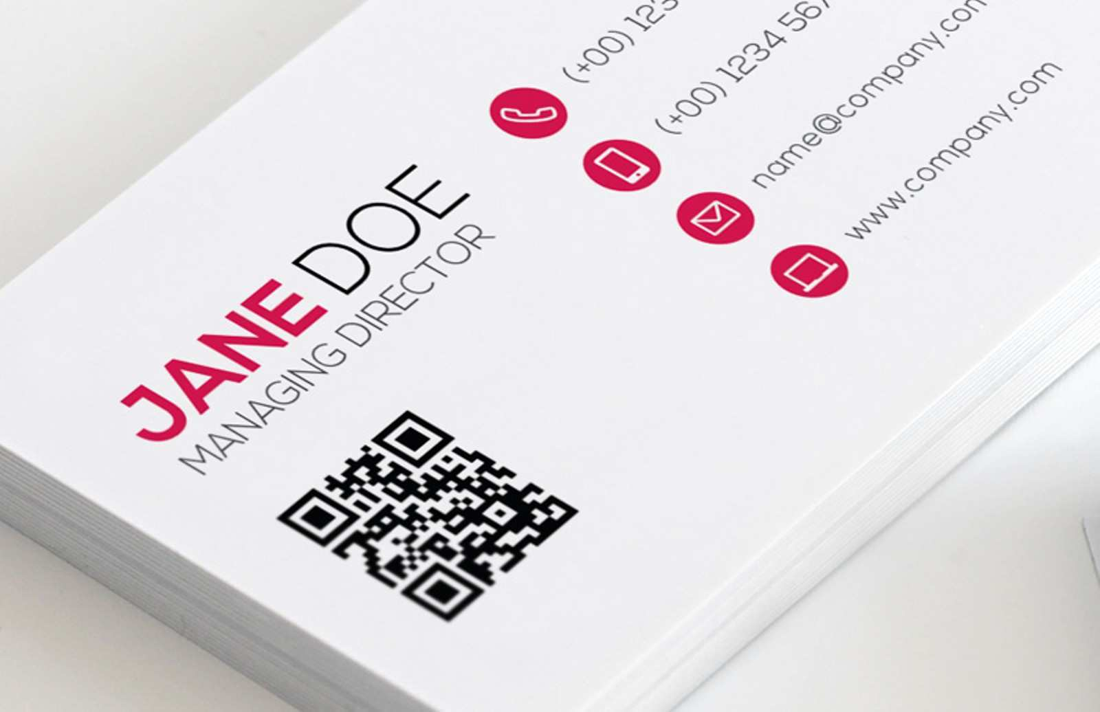 21 Free Business Card Templates With Qr Code in Word by Business In Qr Code Business Card Template