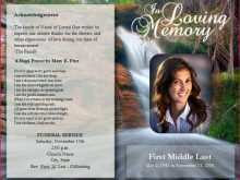 55 Funeral Flyer Templates Photo by Funeral Flyer Templates