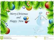 55 Printable Christmas Greeting Card Template Free Download Formating with Christmas Greeting Card Template Free Download