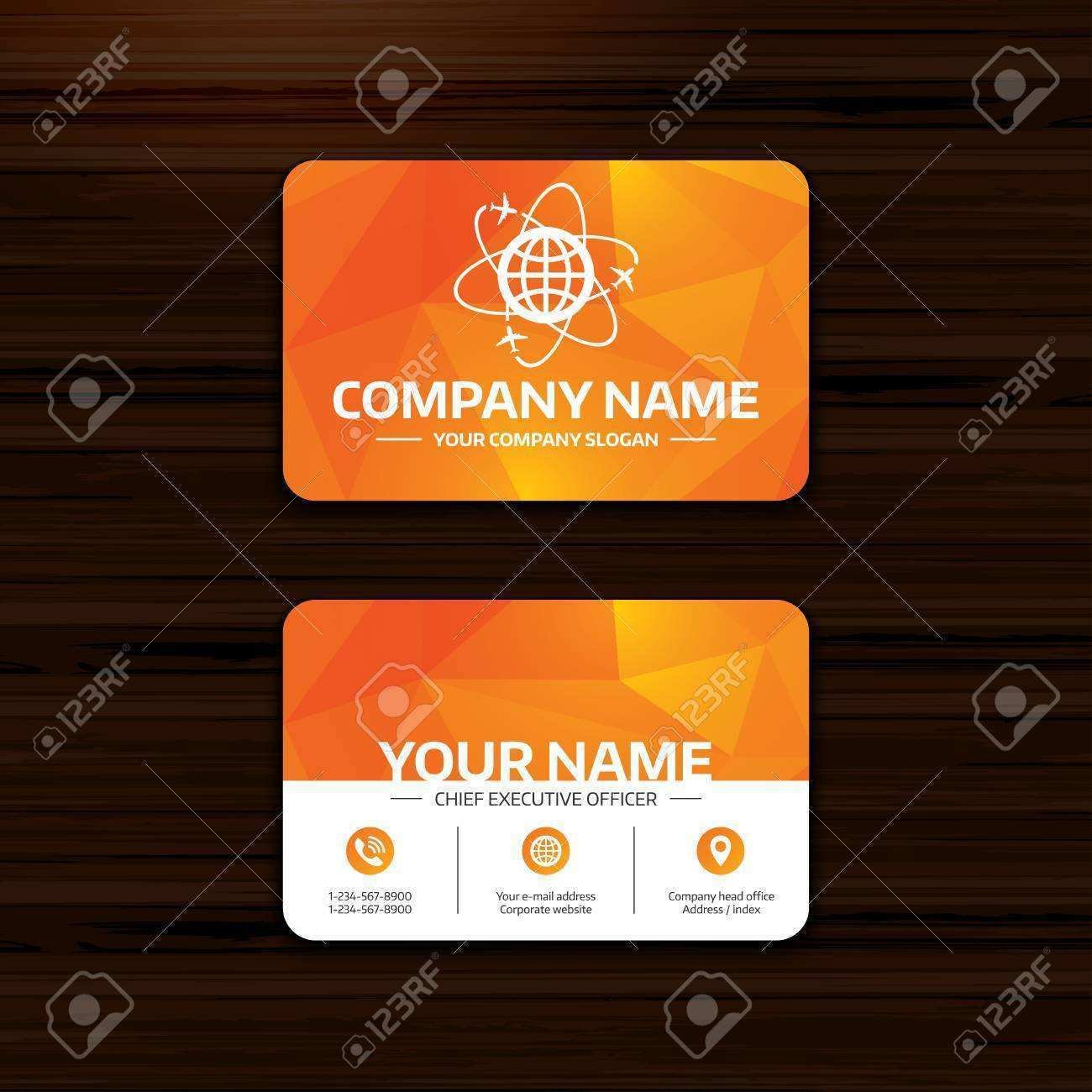 55 Report Business Card Template Globe Templates with Business Card Template Globe