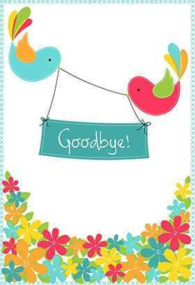 55 Report Farewell Card Templates Jobs in Word with Farewell Card Templates Jobs