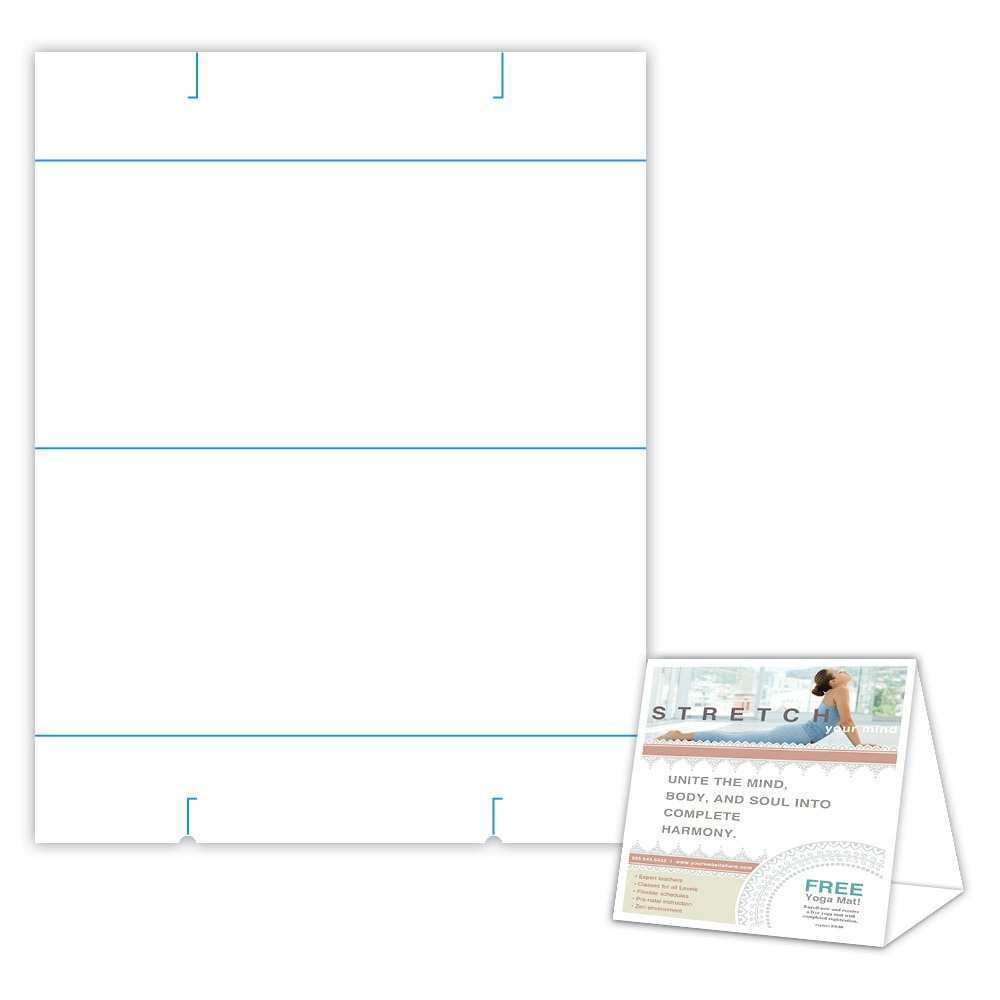 55 Standard 8 5 X 11 Tent Card Template Templates with 8 5 X 11 Tent Card Template