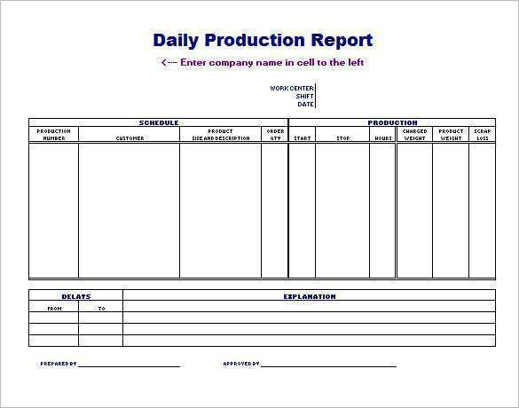 55 Standard Production Planning Template Excel Templates With Production Planning Template Excel Cards Design Templates