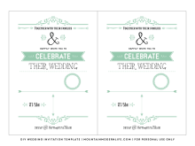 55 The Best Invitation Card Template On Word Templates with Invitation Card Template On Word