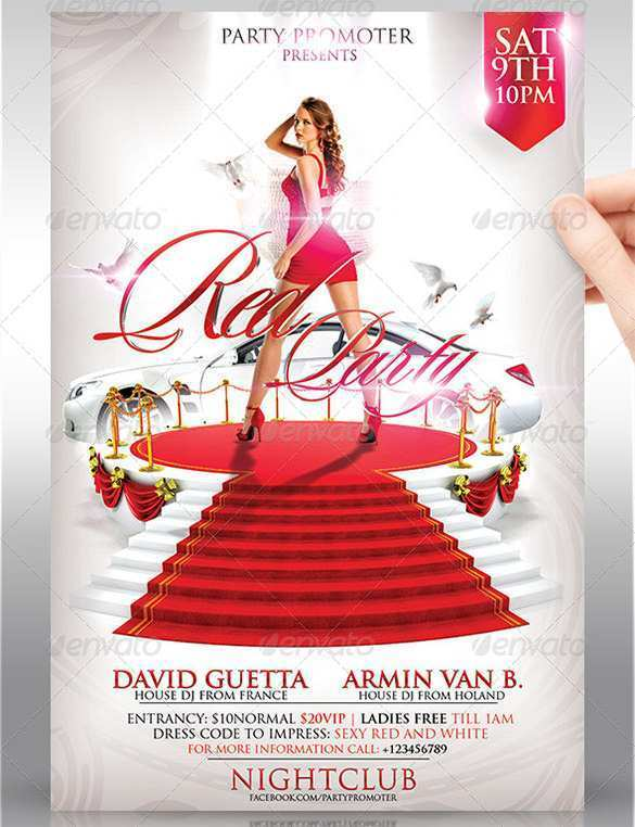 55 The Best Red Carpet Flyer Template Free Layouts for Red Carpet Flyer Template Free