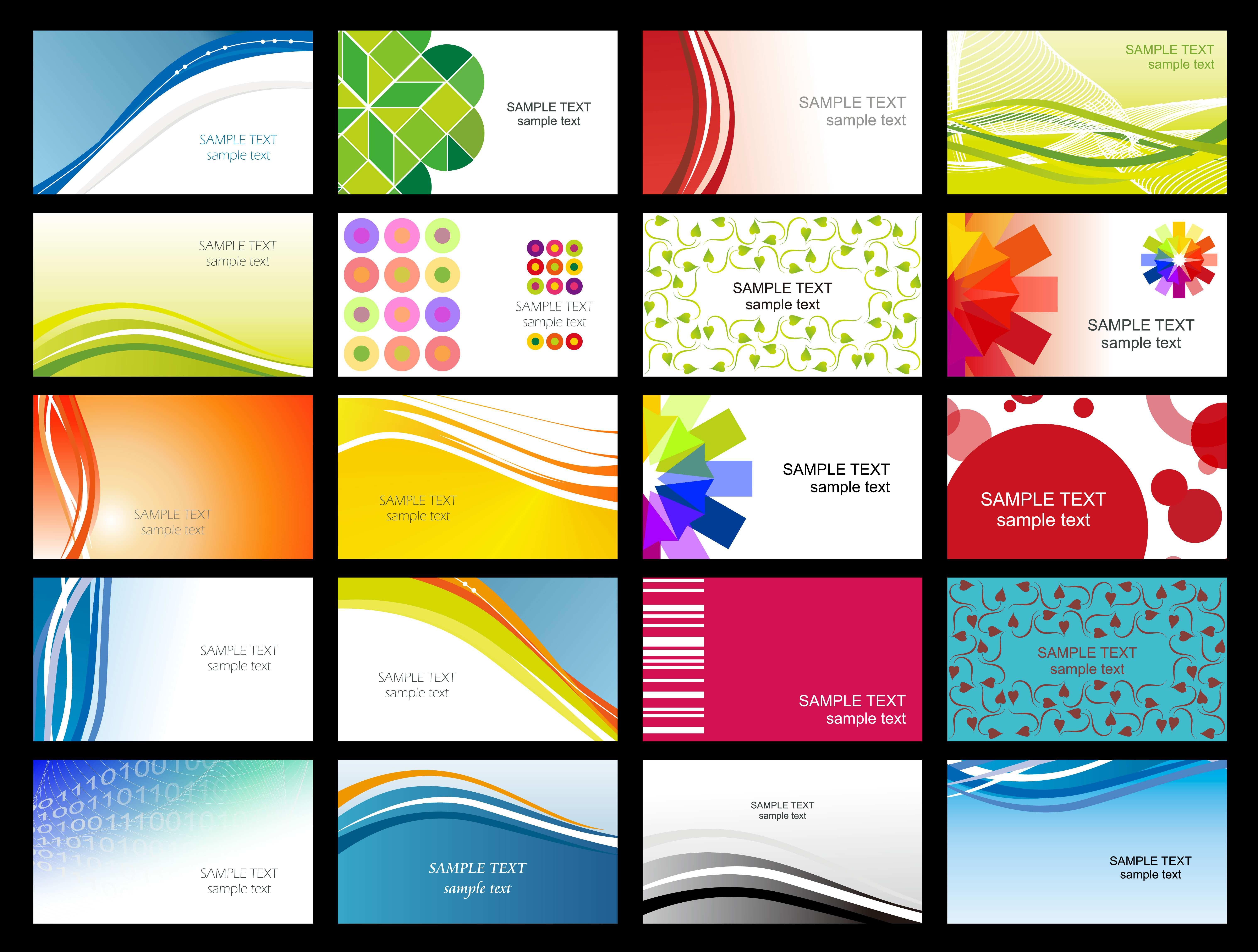 55 Visiting Business Card Templates Free And Printable Maker for Business Card Templates Free And Printable