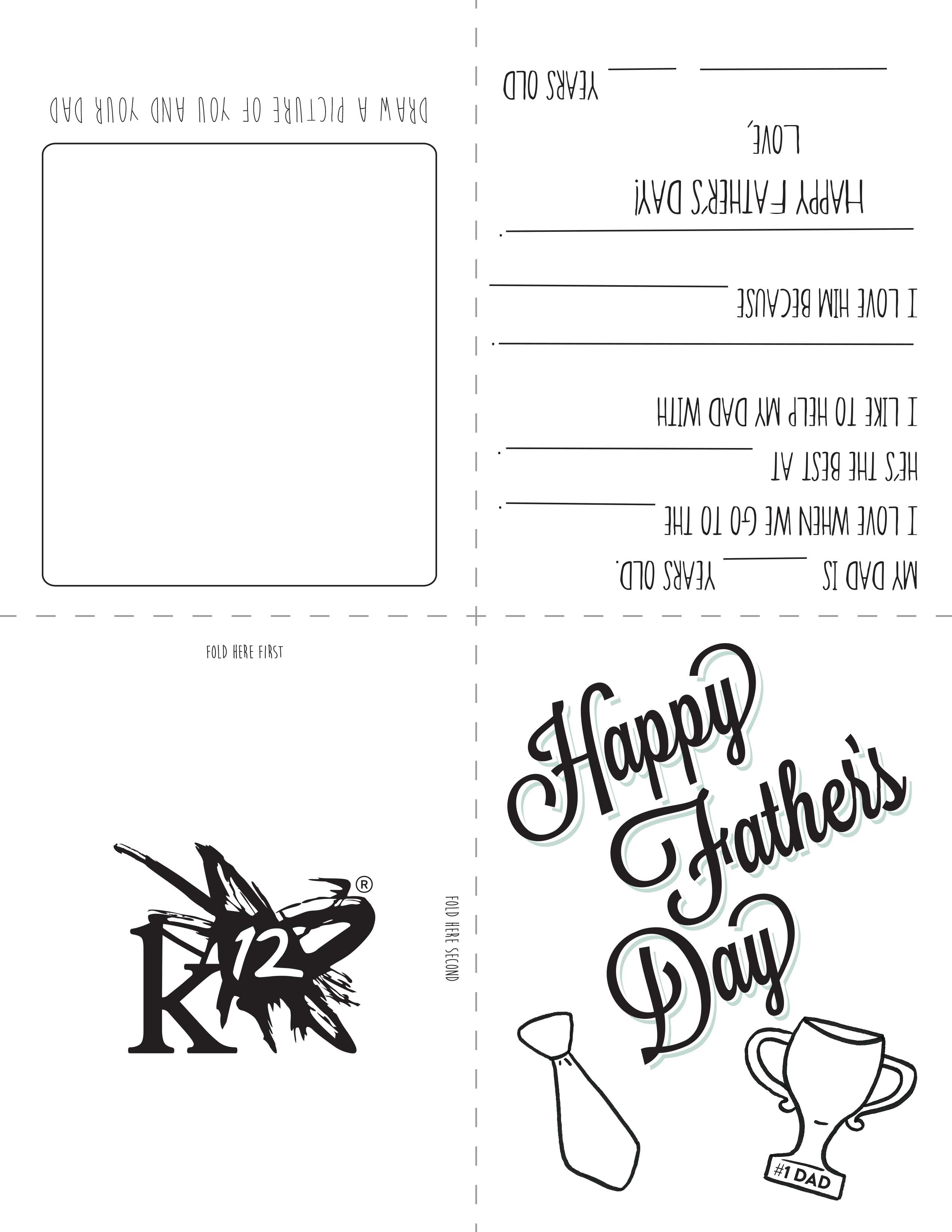 55 Visiting Father S Day Card Template For Toddlers Now by Father S Day Card Template For Toddlers
