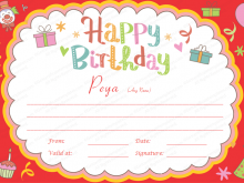 56 Best Birthday Gift Card Template Word Photo by Birthday Gift Card Template Word