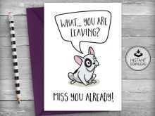 56 Best Farewell Card Templates Nz With Stunning Design by Farewell Card Templates Nz