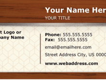 56 Best Name Card Template Word Free in Photoshop for Name Card Template Word Free