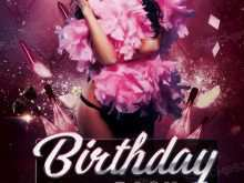 56 Blank Birthday Party Flyer Template Maker with Birthday Party Flyer Template