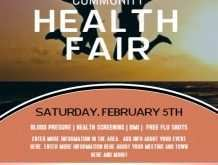 56 Blank Health Fair Flyer Template For Free for Health Fair Flyer Template