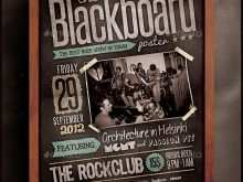 56 Creating Band Flyers Templates in Photoshop with Band Flyers Templates