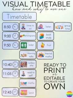 56 Creating Visual Schedule Template Printable Formating by Visual Schedule Template Printable
