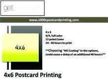56 Format 4X6 Postcard Printing Template Now by 4X6 Postcard Printing Template