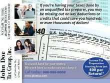 56 Format Tax Preparation Flyers Templates Download with Tax Preparation Flyers Templates