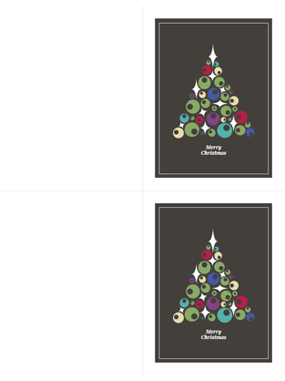 56 Free 2 Fold Christmas Card Template Download for 2 Fold Christmas Card Template
