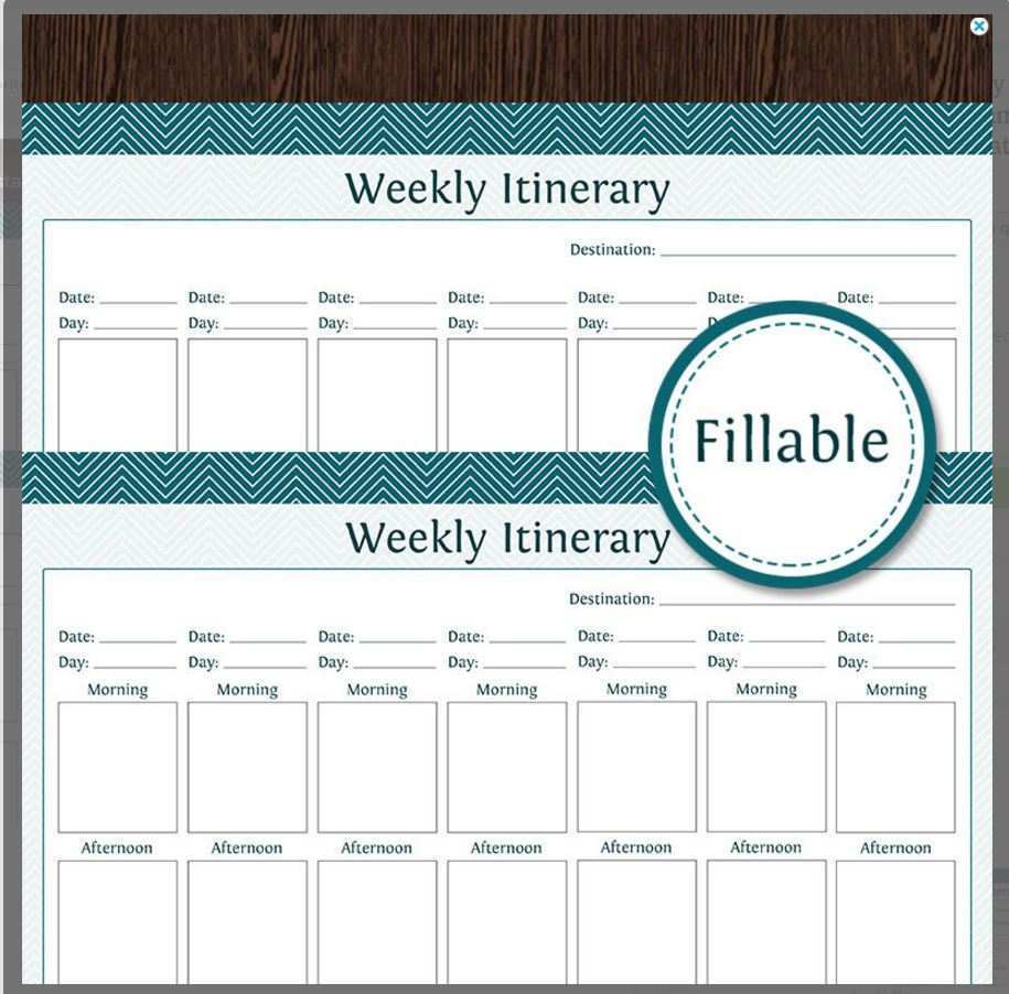56 Free 4 Day Travel Itinerary Template Templates by 4 Day Travel Itinerary Template