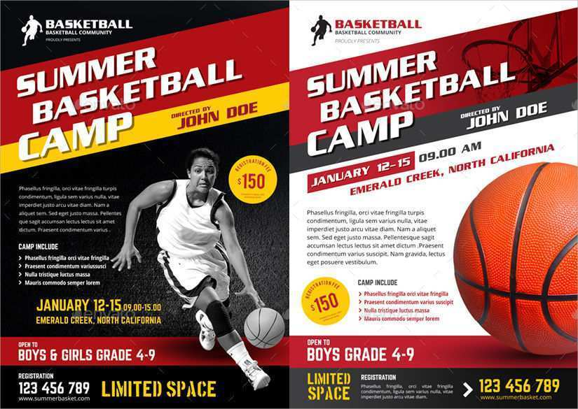 56 Free Basketball Camp Flyer Template in Word by Basketball Camp Flyer Template