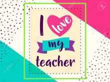 56 Free Card Template For Teachers Day PSD File for Card Template For Teachers Day