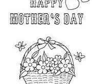 56 Free Mother S Day Card Templates To Colour Now by Mother S Day Card Templates To Colour