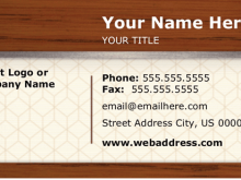 56 How To Create Business Card Template Word Pdf for Ms Word by Business Card Template Word Pdf