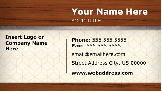 Visiting Card Template Word from legaldbol.com