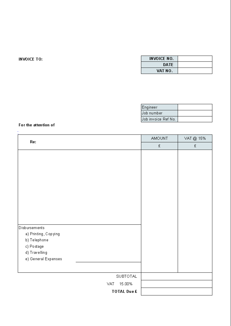 56 How To Create Free Printable Vat Invoice Template Uk Maker For Free Printable Vat Invoice Template Uk Cards Design Templates