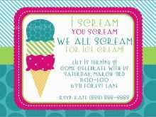 56 How To Create Ice Cream Social Flyer Template Free Formating for Ice Cream Social Flyer Template Free