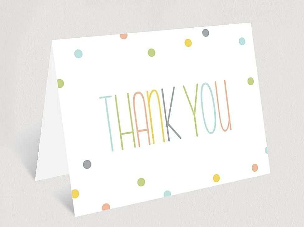 56 Online Baby Thank You Card Template Printable For Free with Baby Thank You Card Template Printable