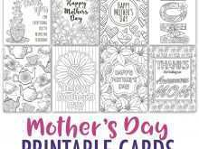 Mother'S Day Card Print Out