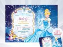 56 Standard Cinderella Birthday Card Template in Word with Cinderella Birthday Card Template
