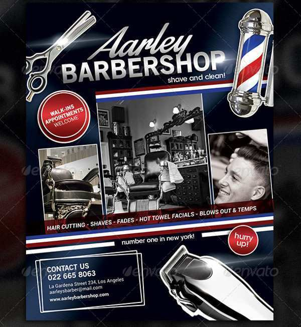56 The Best Barber Shop Flyer Template Free by Barber Shop Flyer Template Free