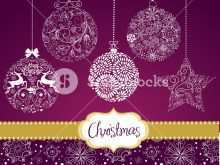 56 The Best Card Christmas Decorations Template Maker with Card Christmas Decorations Template