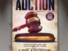 57 Auction Flyer Template for Ms Word by Auction Flyer Template