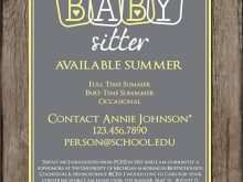 57 Best Babysitting Flyers Templates Photo with Babysitting Flyers Templates